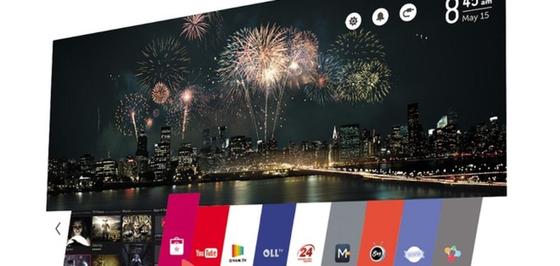 LG презентовала в Украине смарт-ТВ на базе новой оси WebOS