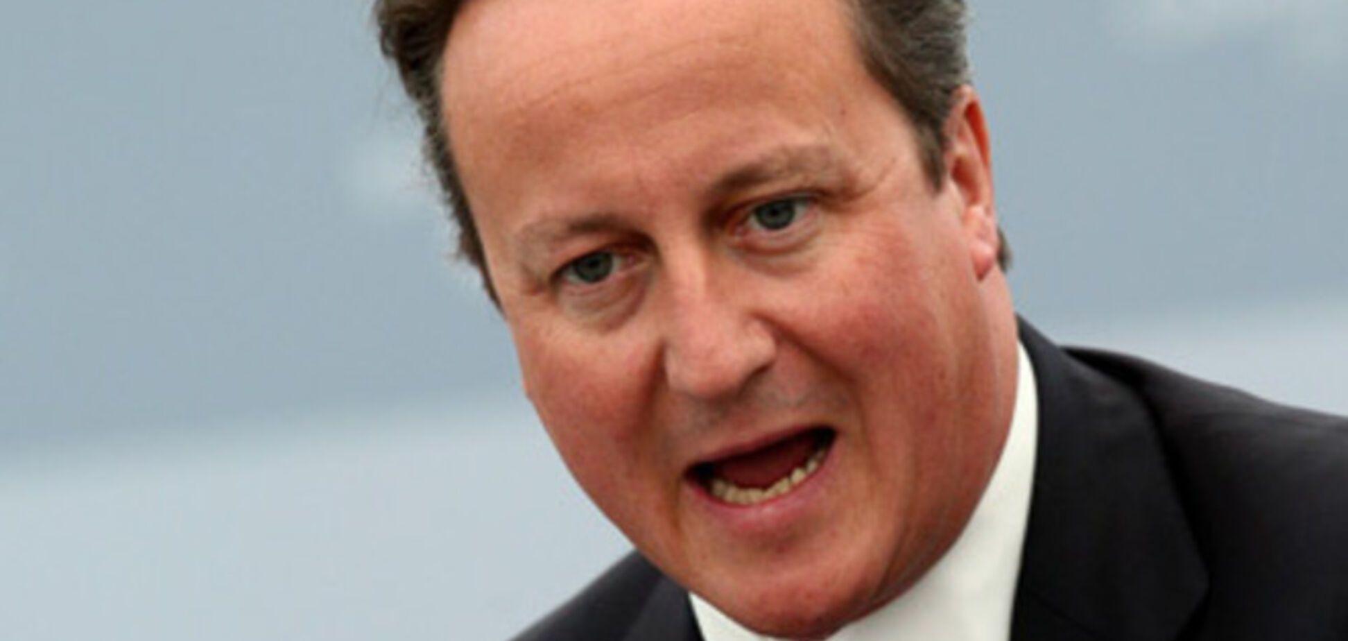 Кэмерон пообещал неотвратимые последствия для России