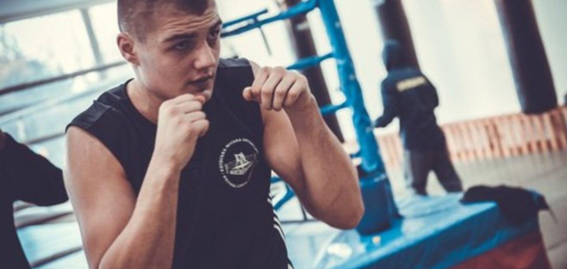 Титулованный украинский боксер отправился воевать против террористов