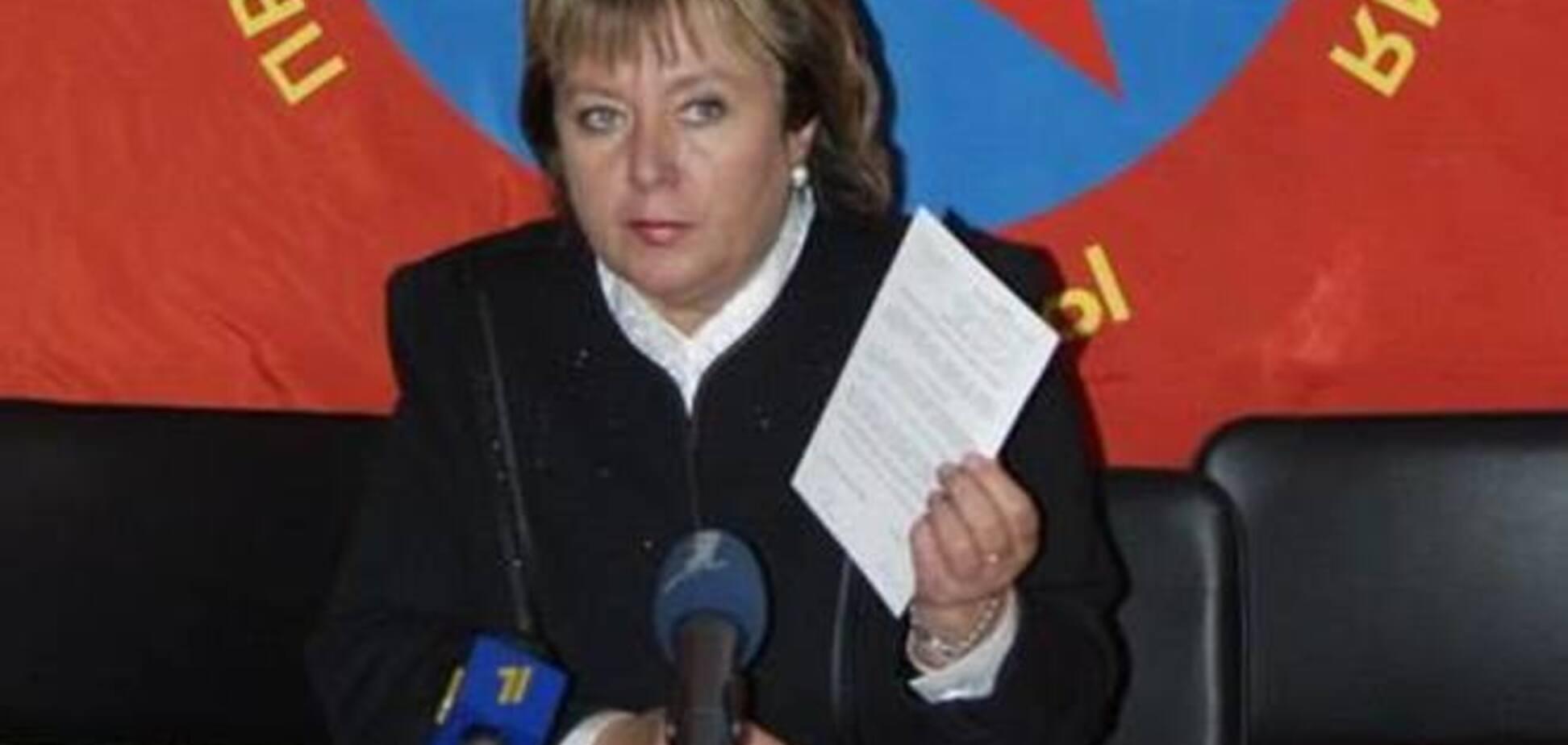 Витренко назвала свое 'самоубийство' делом рук СБУ