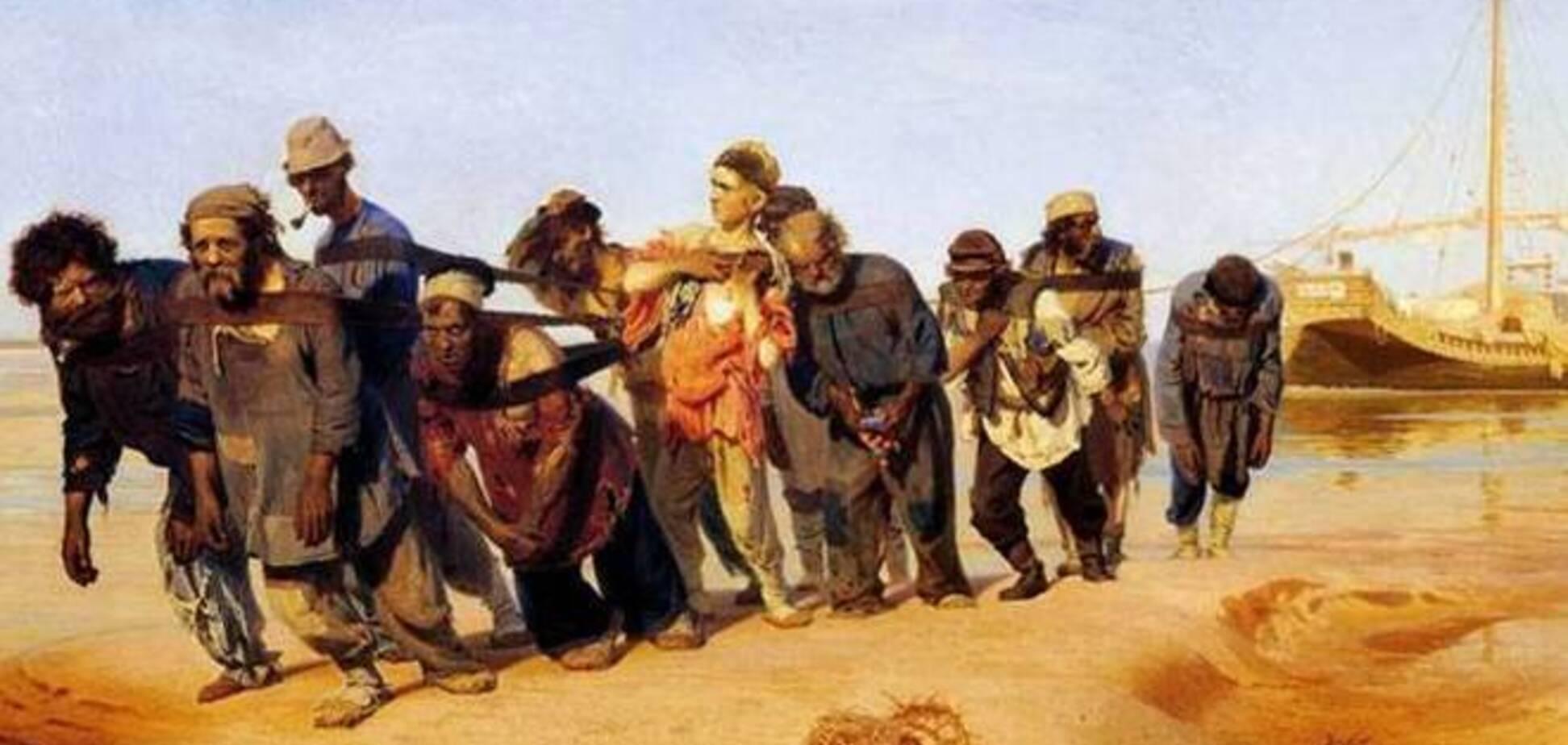Запад боится рабовладельческую Россию