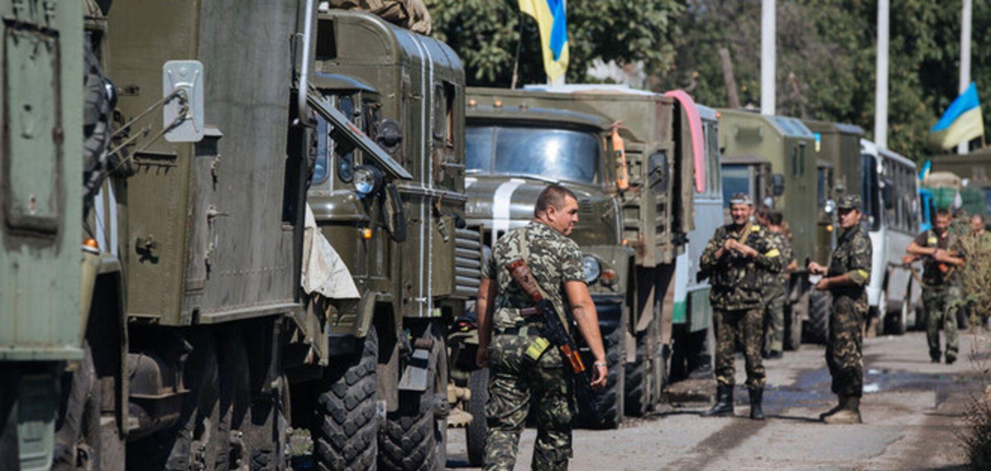 За время АТО погибли 873 украинских военнослужащих
