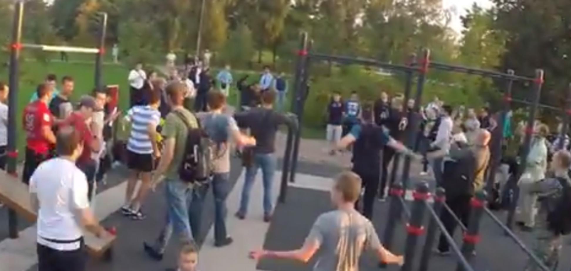 Растолстевший Губарев устроил тренировку молодчиков в Москве