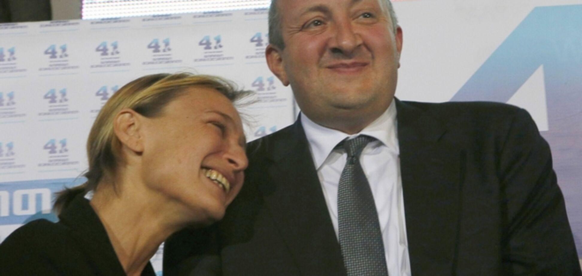 Президент Грузии в третий раз женился, теперь по залету?