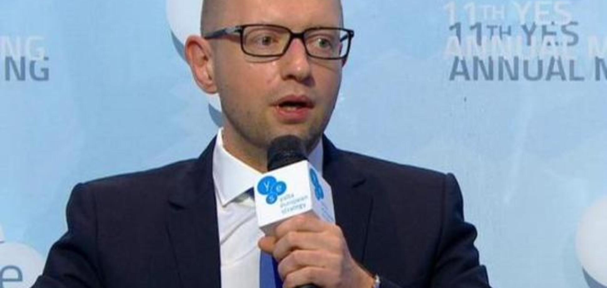 Яценюк не пойдет на выборы вместе с Порошенко