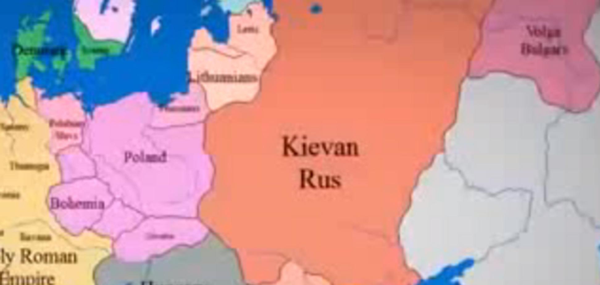 В сети появилось видео тысячелетних изменений карты Европы