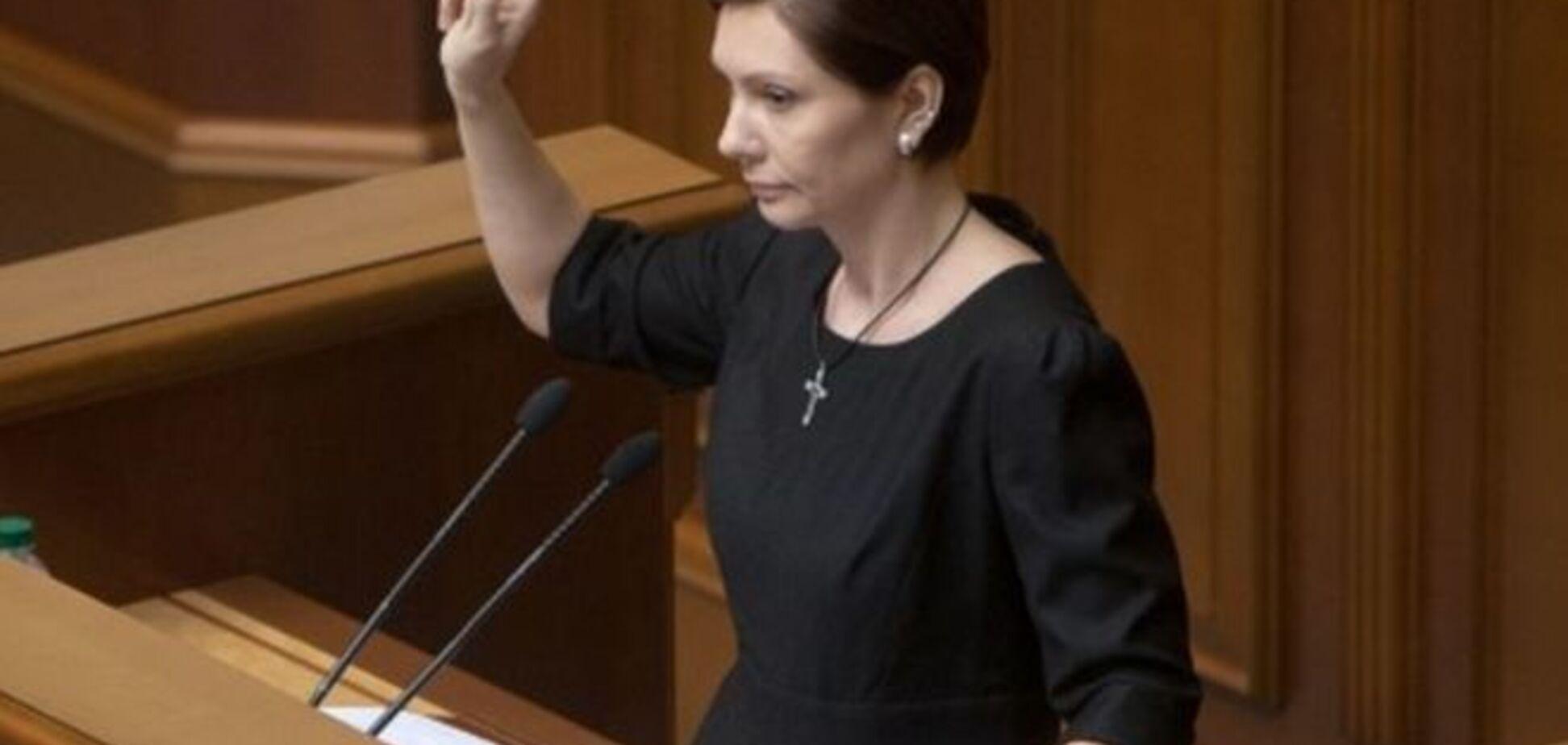 Турчинов выключил микрофон Бондаренко: вам на коленях надо стоять перед Украиной