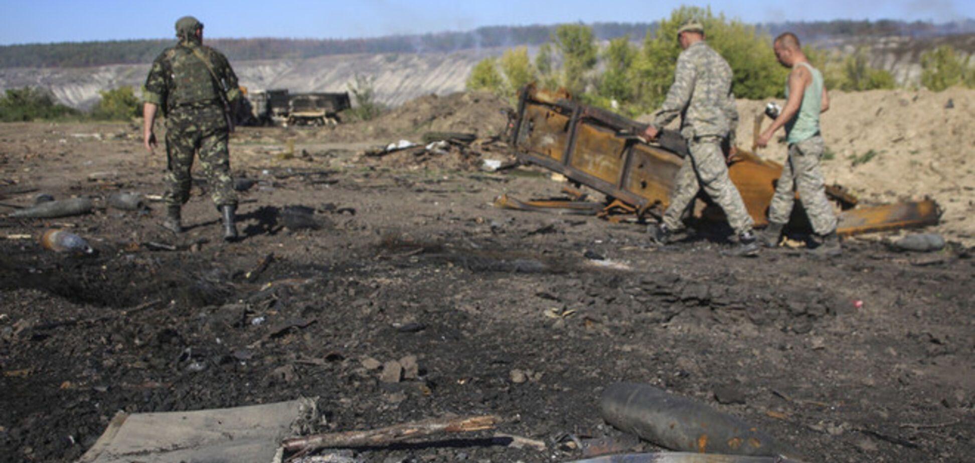 Силы АТО уничтожили 20 террористов
