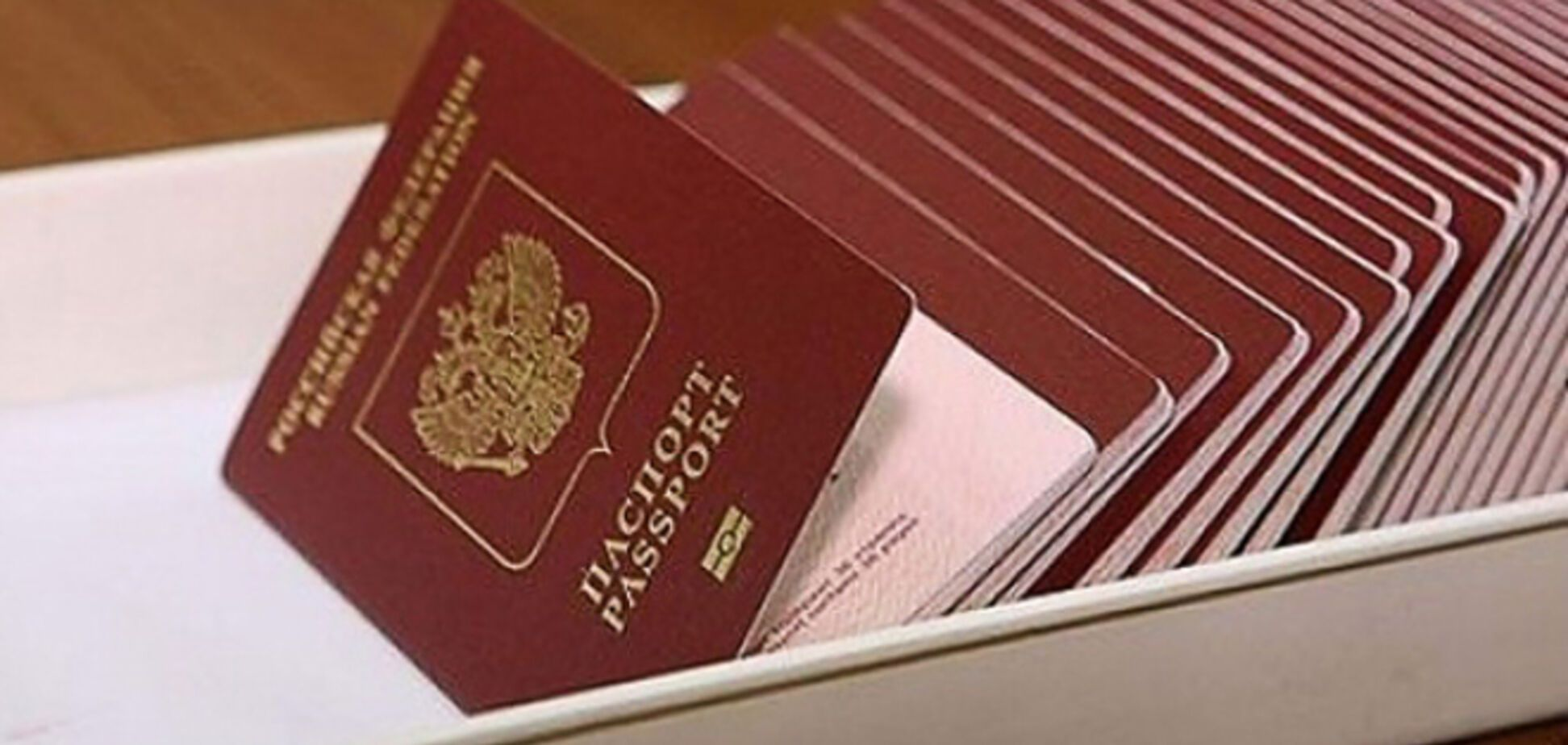 На Донбассе начали раздавать российские паспорта