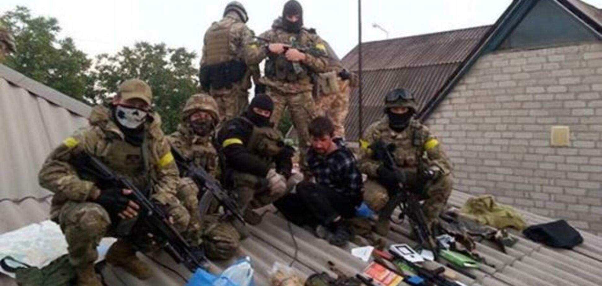 Силы АТО схватили на Донбассе группу диверсантов