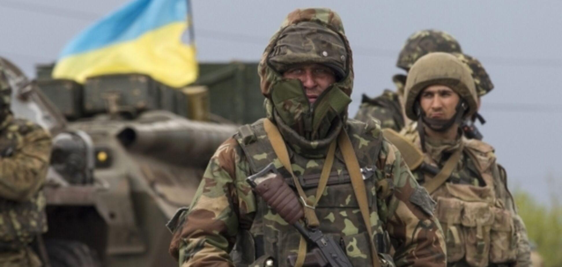 Украинские военные за сутки уничтожили 40 террористов, один 'Град' и две пушки