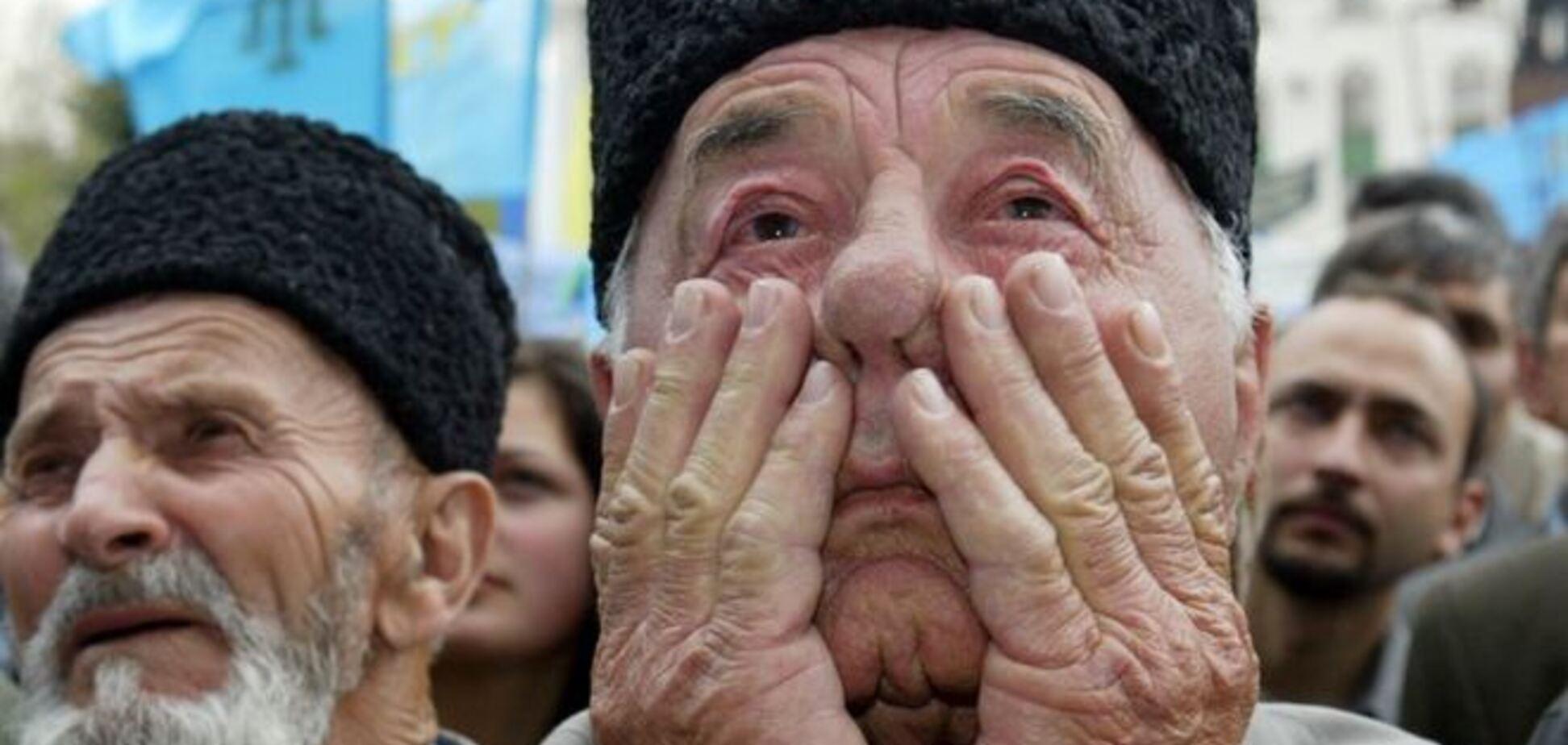 Оккупанты поставили крымских татар на грань нового геноцида