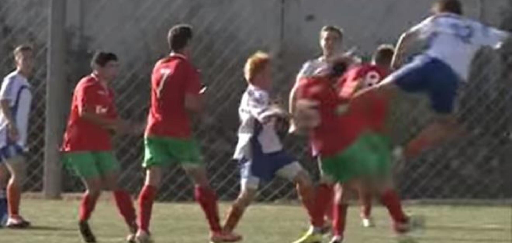 В России жестоко подрались дети-футболисты