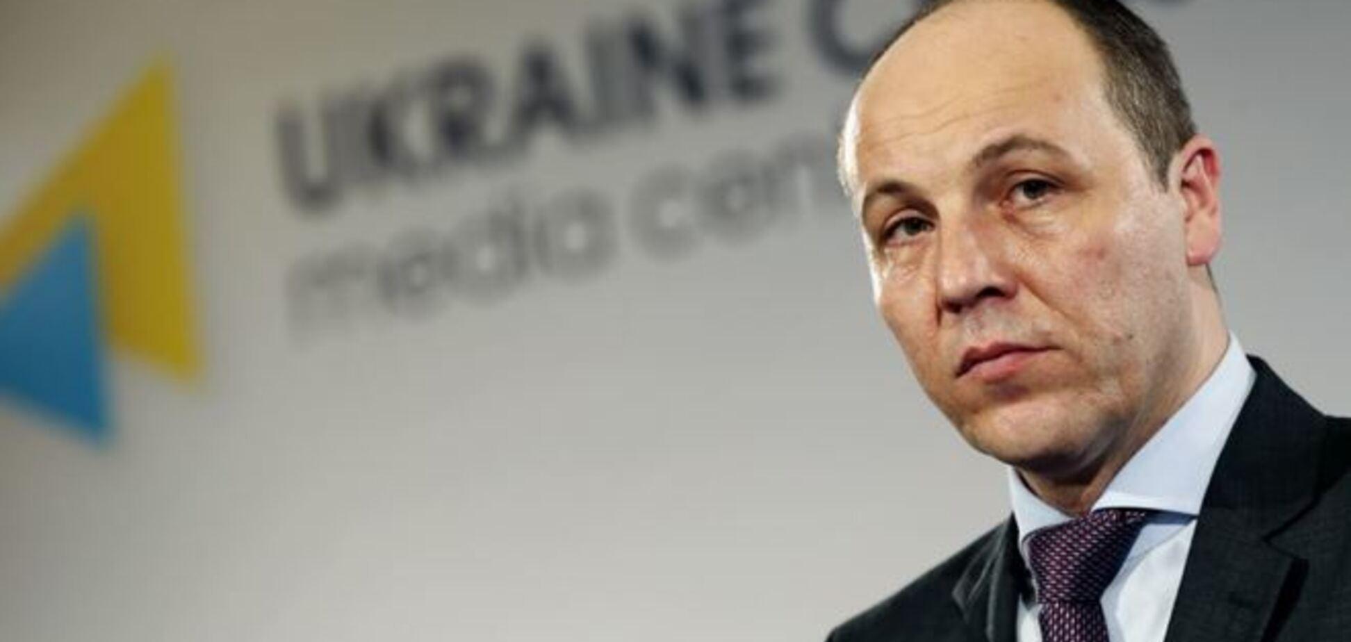 Парубий опасается быстрой атаки войск Путина на Донбассе