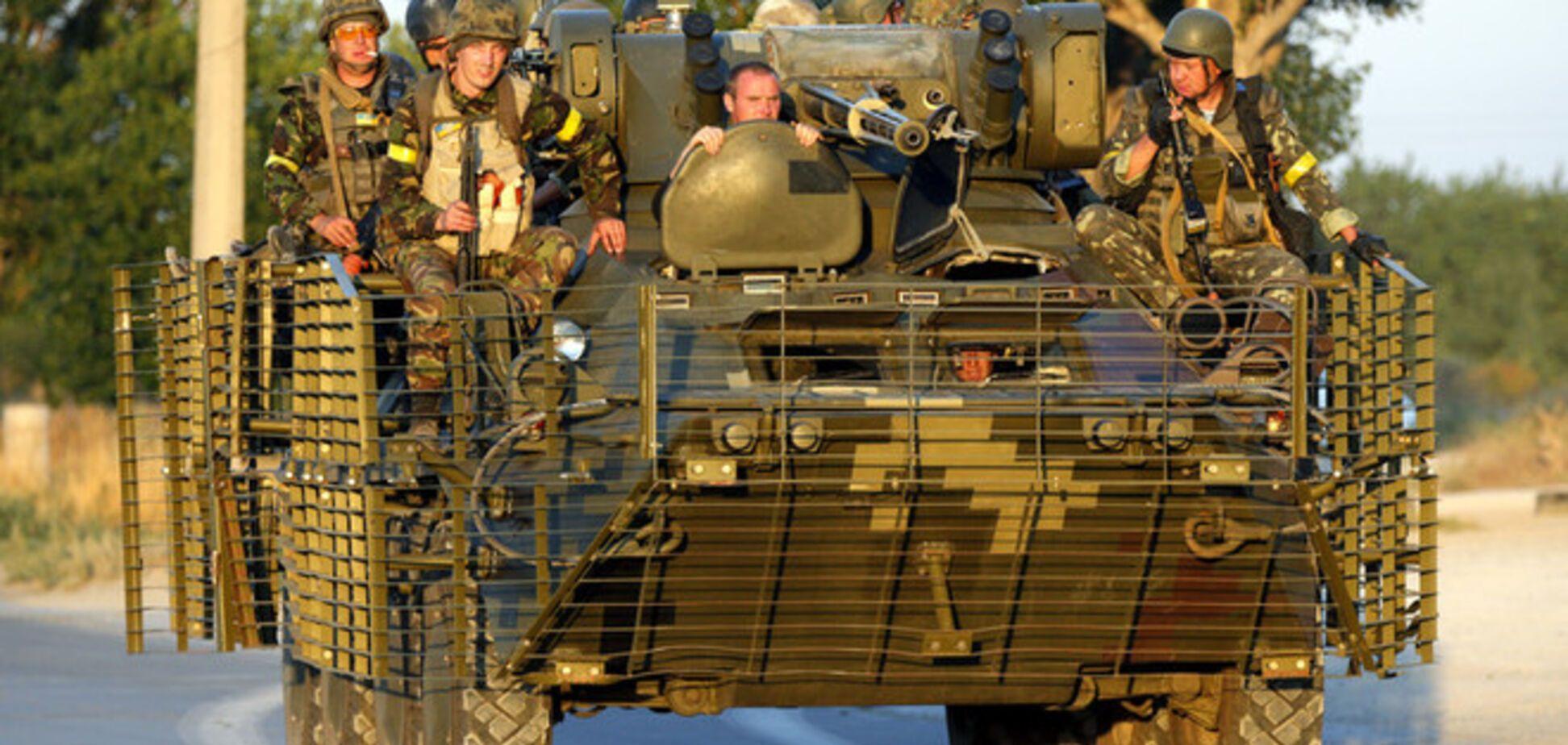 Силы АТО ликвидировали группу пехоты боевиков под Гранитным