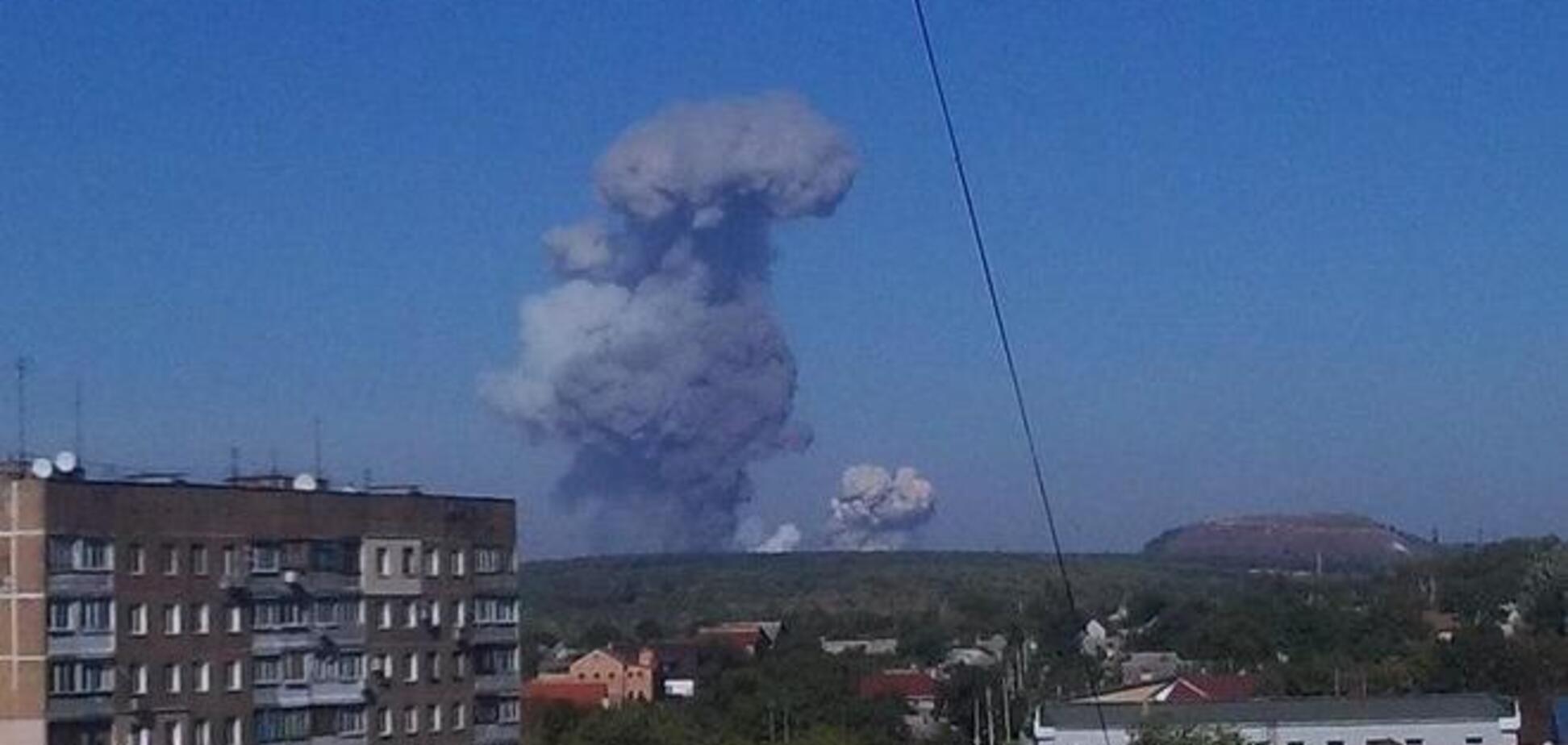 Мощность взрыва на оборонном заводе в Донецке составила 3000 тонн