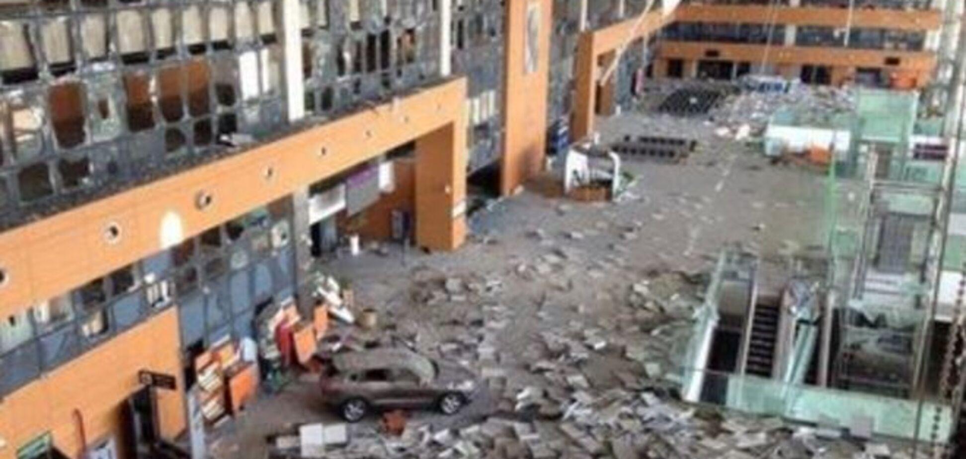 В сети появились фото Донецкого аэропорта до и после четырехмесячного обстрела