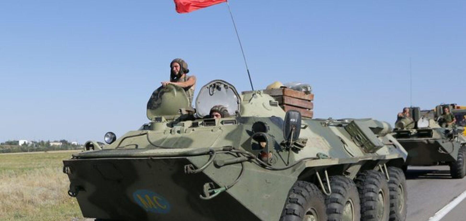 В СНБО заявили о проникновении новых подразделений войск РФ на территорию Украины