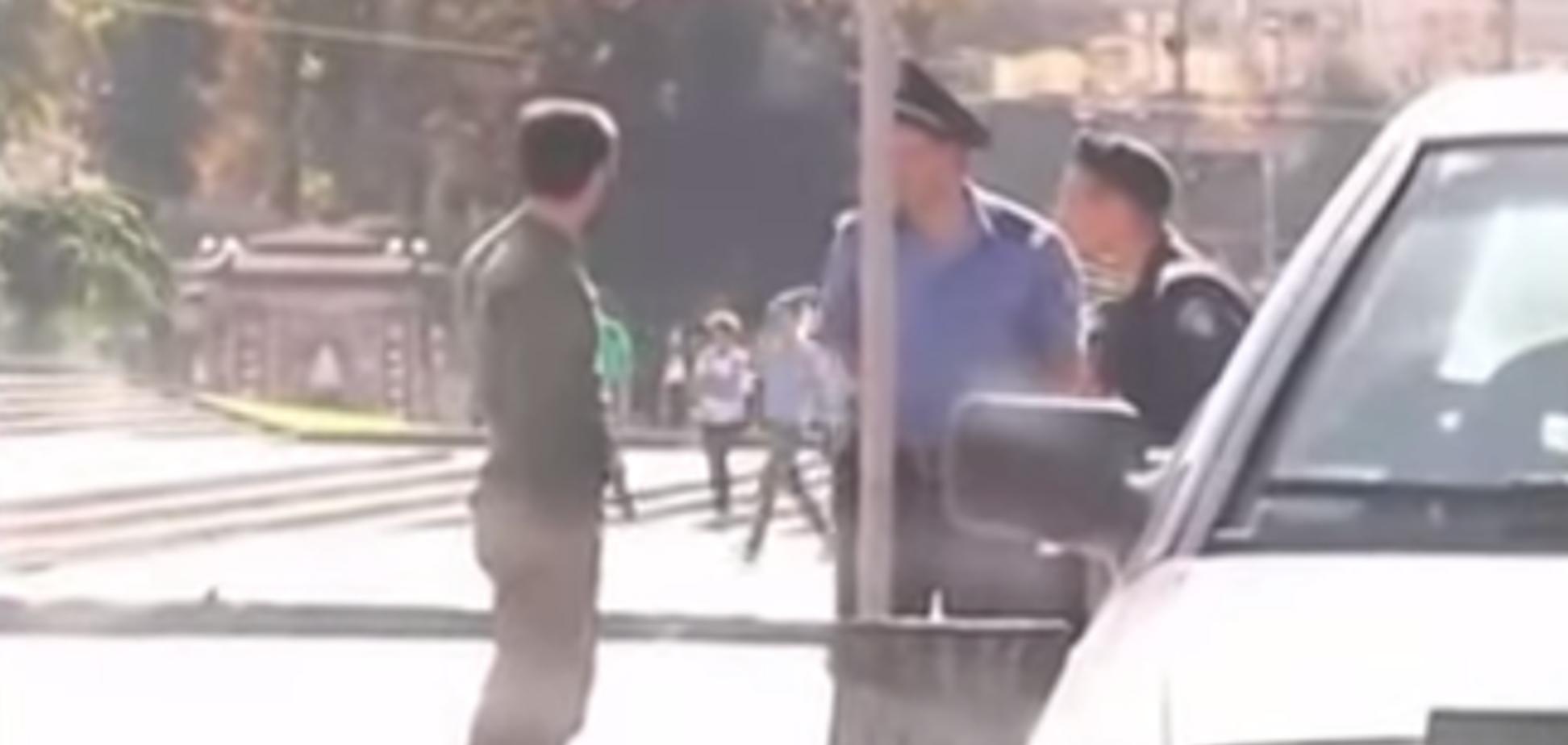 МВД отчиталось об увольнении милиционеров из скандального видео