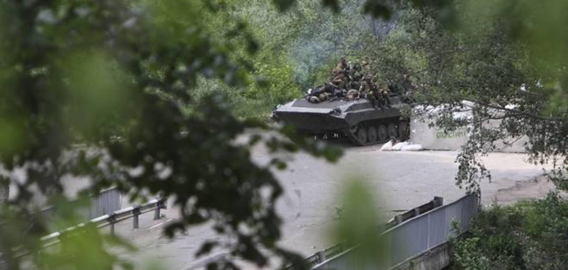Террористы заявили об отводе своей артиллерии