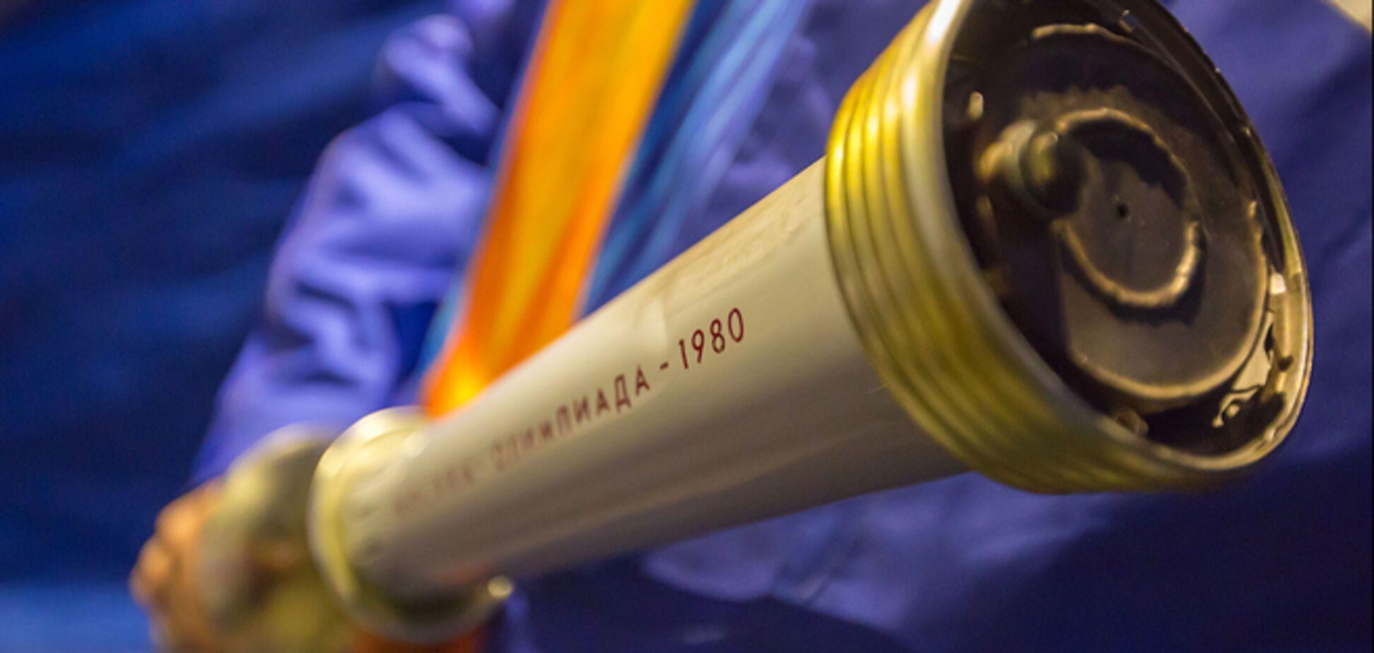 Для нужд бойцов АТО продали факел московской Олимпиады-80
