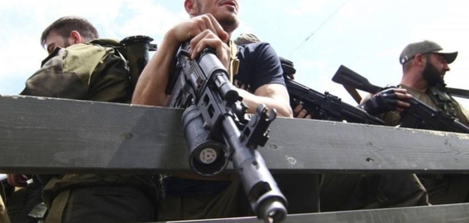 Ночью в междоусобных разборках были убиты два главаря террористов