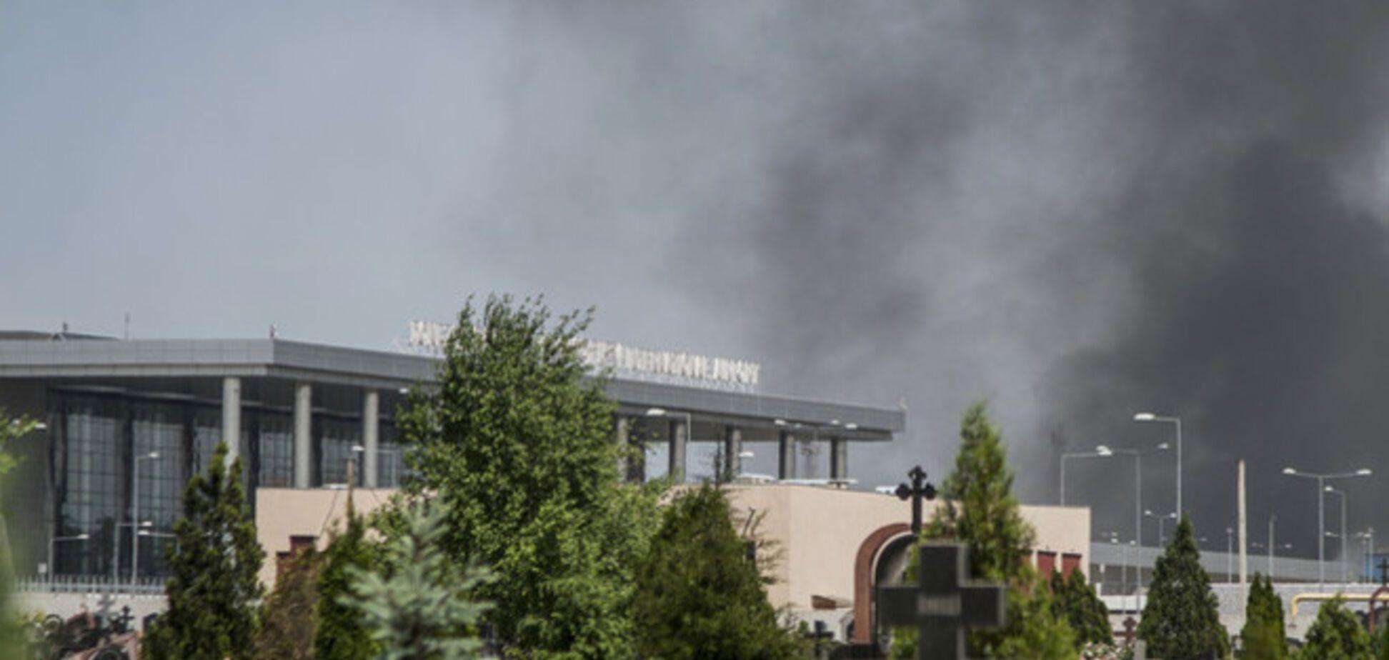 Ночью боевики снова обстреляли позиции украинских военных у Донецкого аэропорта