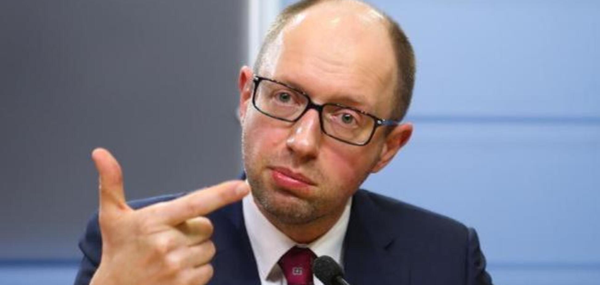 Яценюк поехал в США представлять план действий 'Восстановление Украины'
