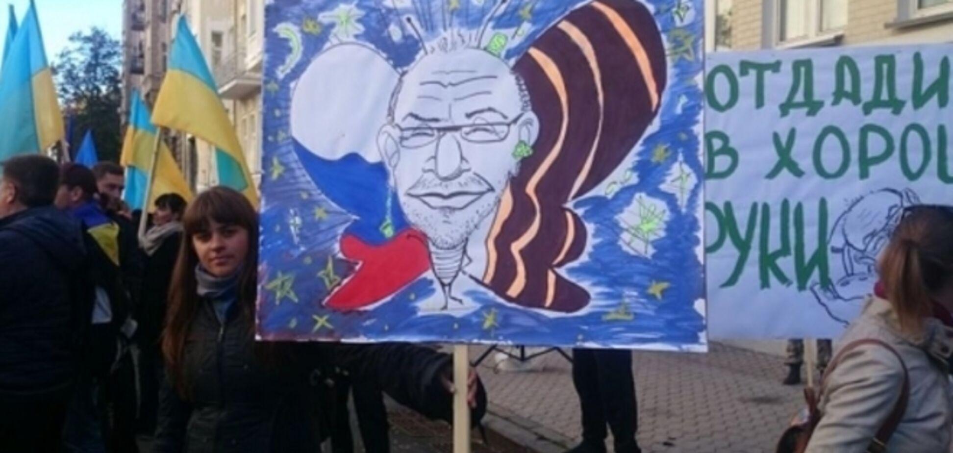 Харьковчане из-за Кернеса перекрыли движение на Крещатике
