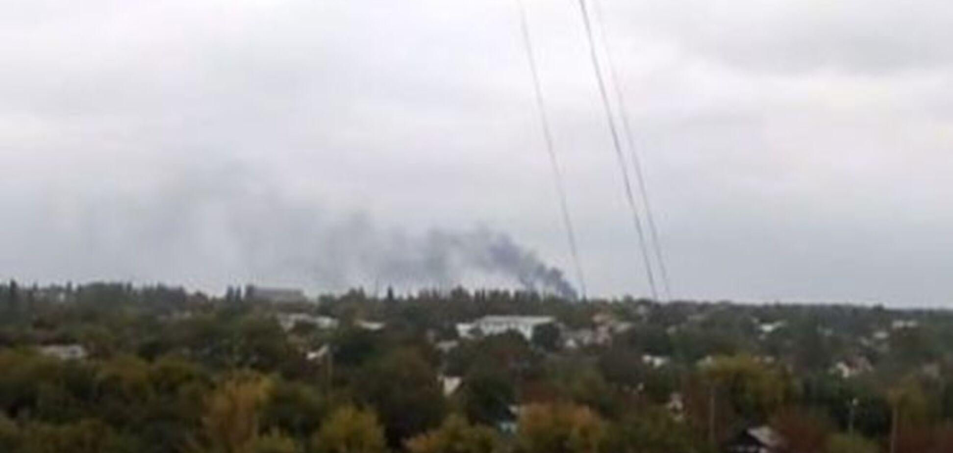 Террористы возобновили обстрел Донецкого аэропорта