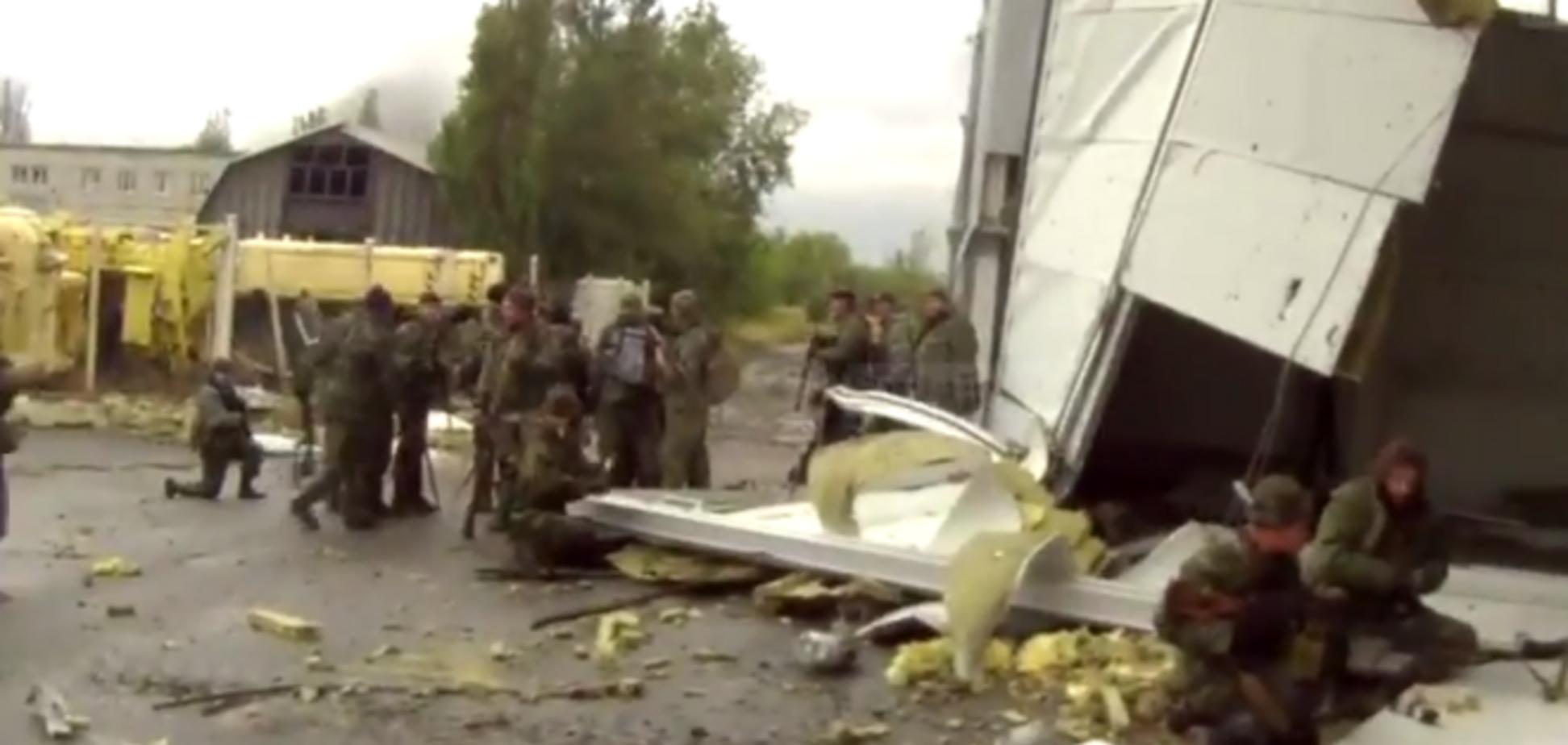 Террористы несут огромные потери в боях за аэропорт Донецка: опубликовано видео