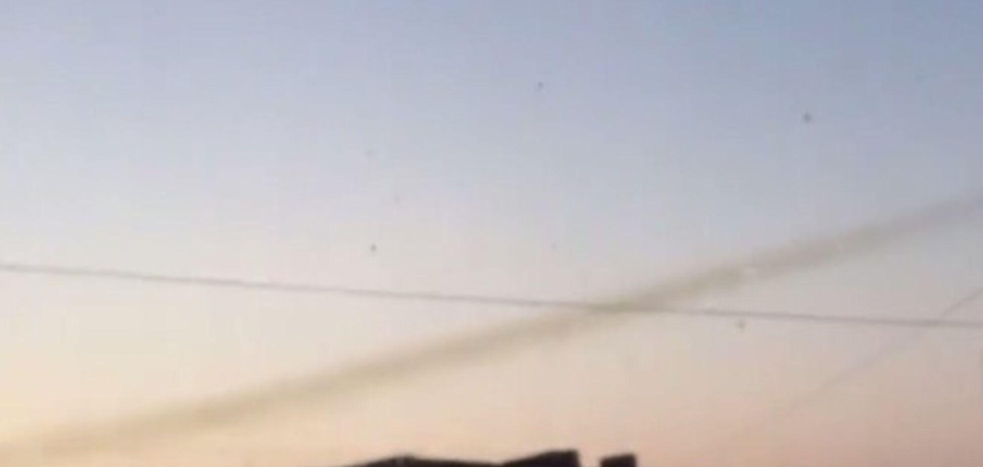 'ДНР' обстреляла из 'Града' позиции сил АТО в Дебальцево: опубликовано видео