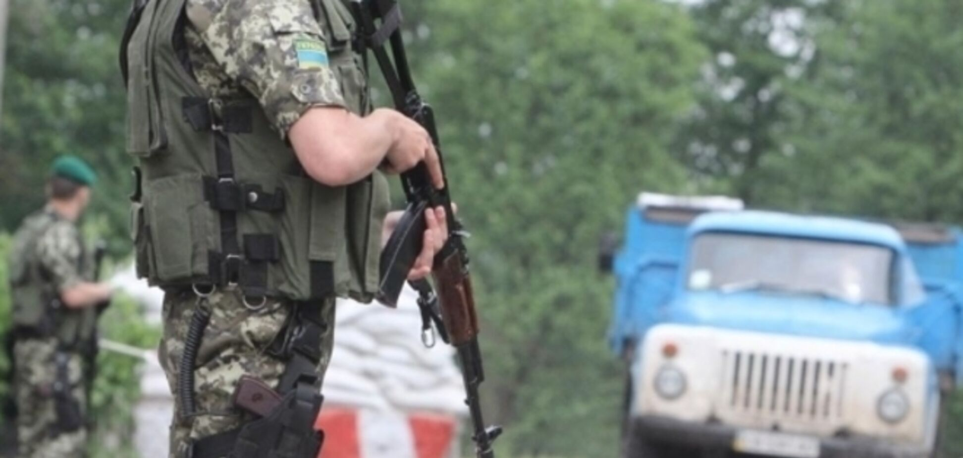 На Херсонщине водители фур перекрыли дорогу в Крым