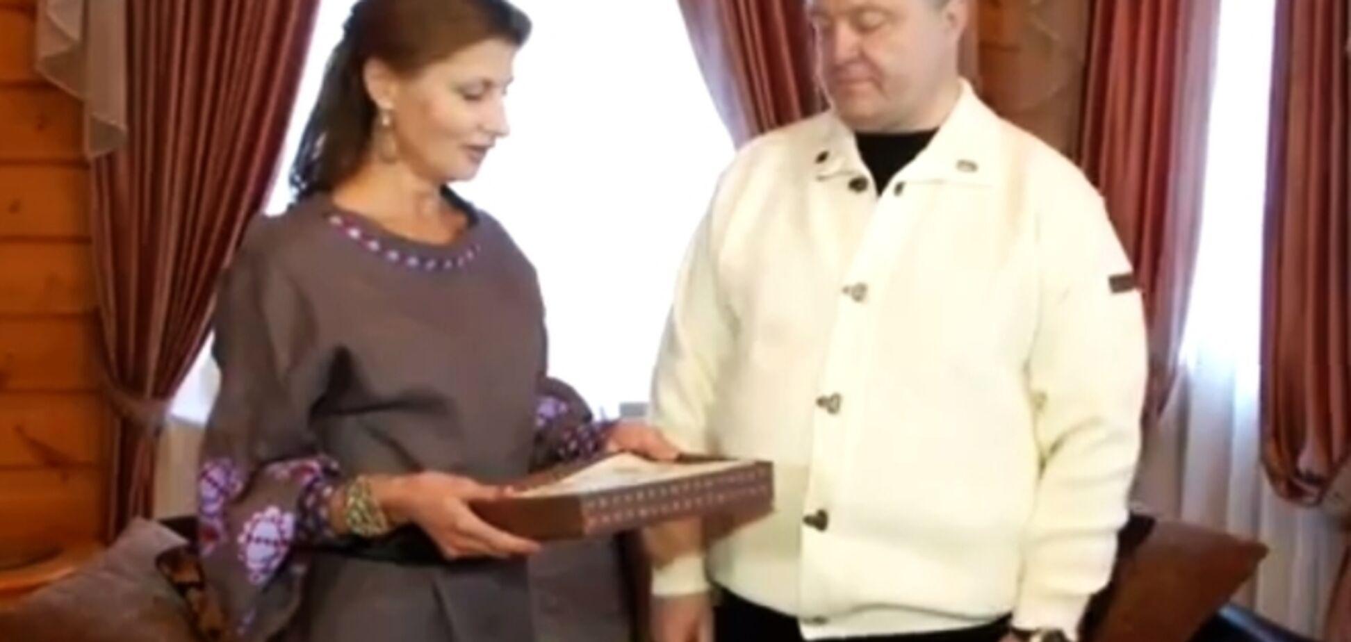 СМИ рассказали, где Порошенко отпраздновал День рождения