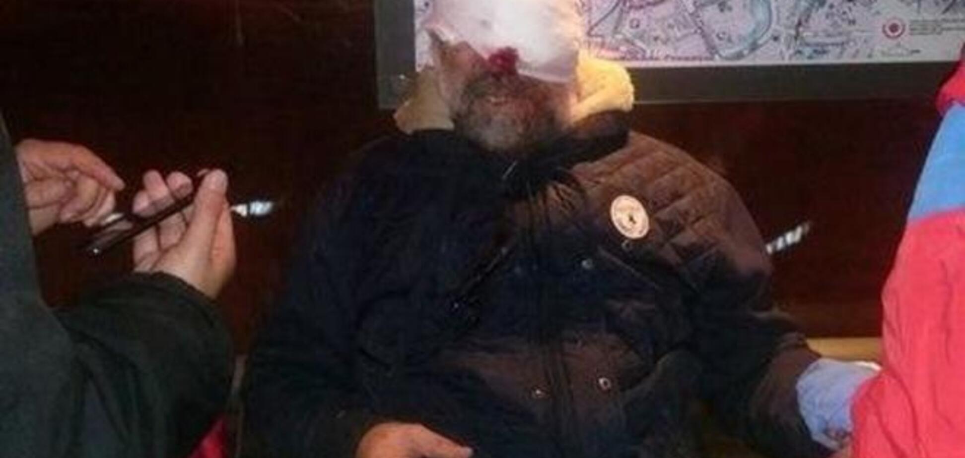 Во время сноса памятника Ленину в Харькове пострадал активист