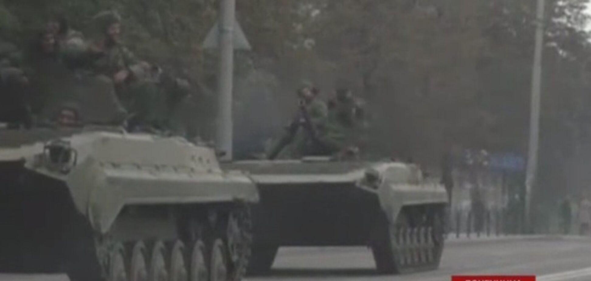 В Макеевку вторглась бронетехника 'ДНР'
