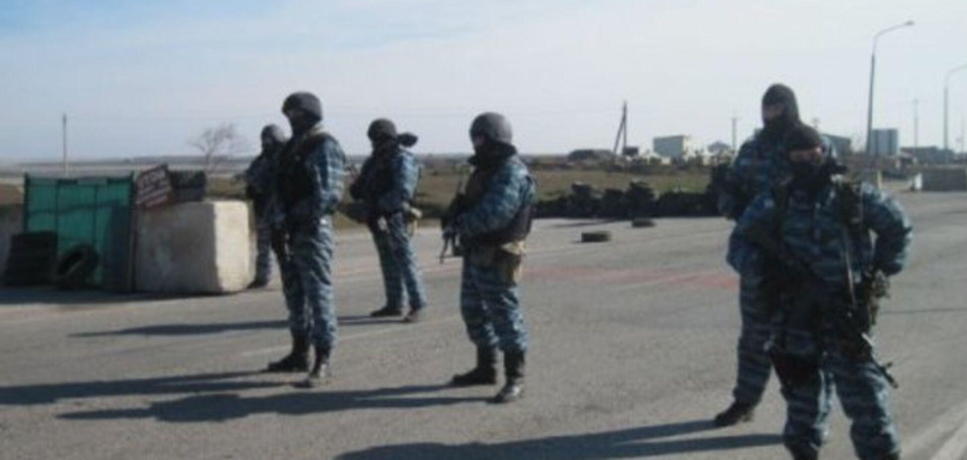 На Донбасс приехали милиционеры с шевронами 'Беркута' и начали усиленно критиковать Майдан