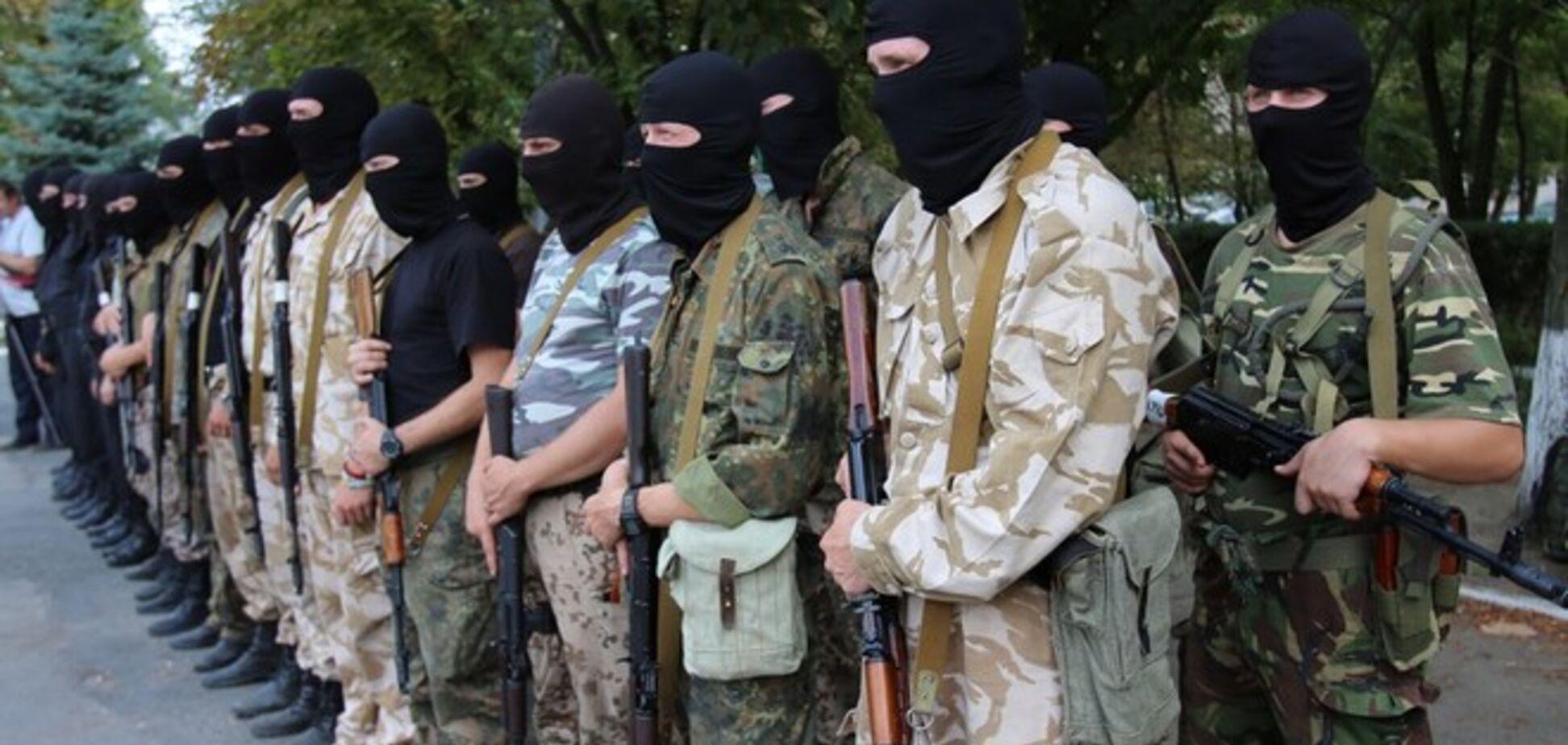 Бойцы 'Херсона' в зоне АТО потеряли много оружия