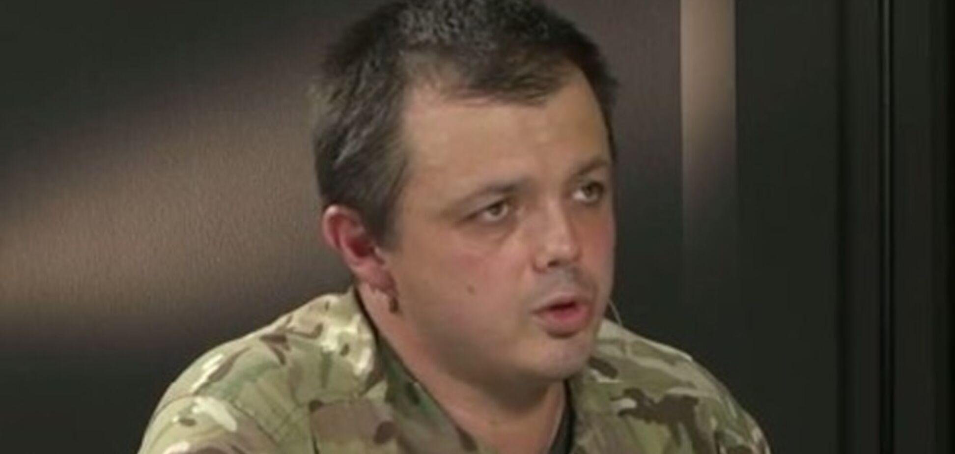 Семенченко не хочет быть чиновником: какой идиот назначит меня министром обороны?