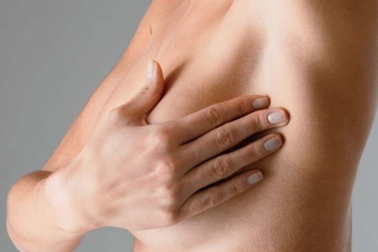 Смотреть необычная форма груди и сосков #3