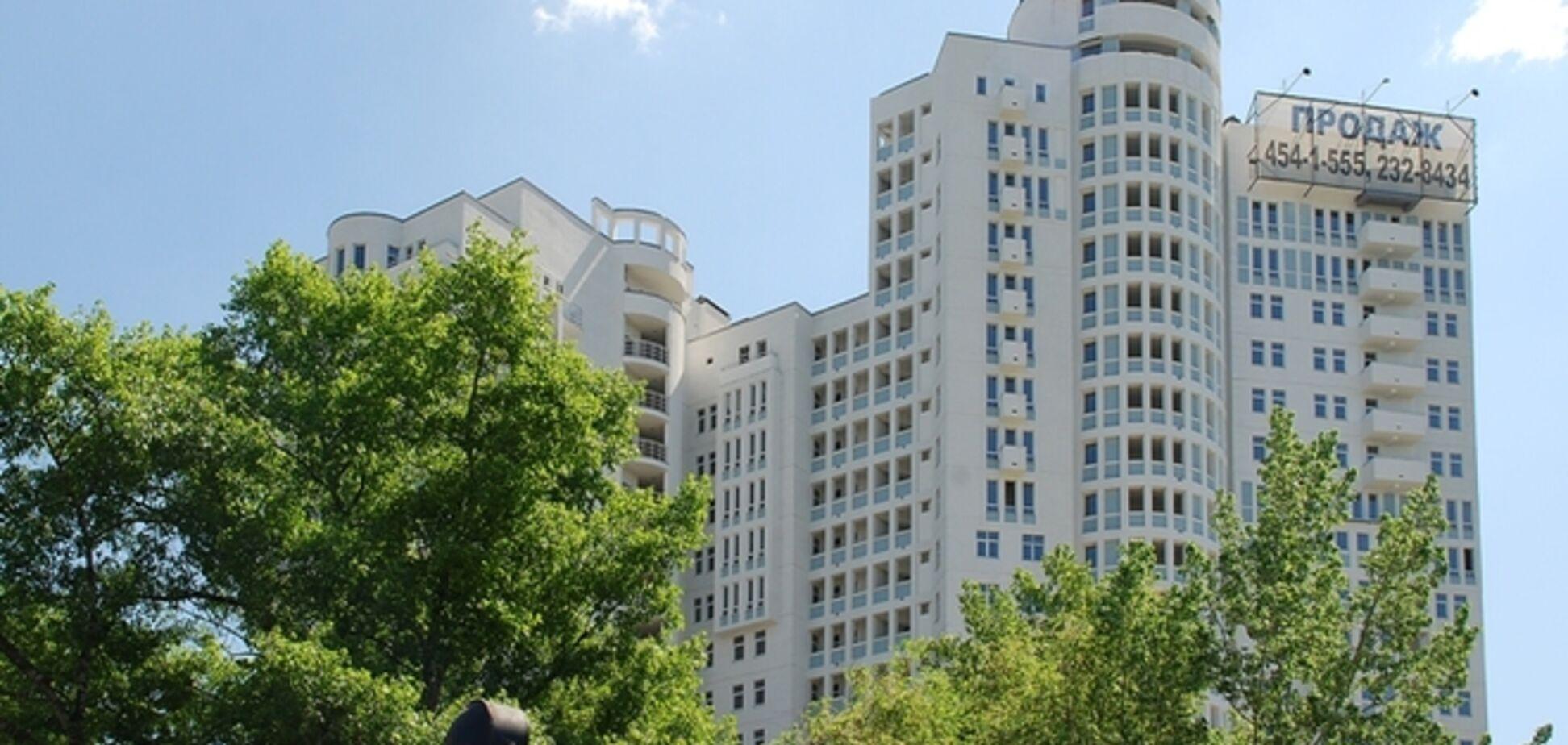 В Киеве престижное жилье оказалось в зоне риска