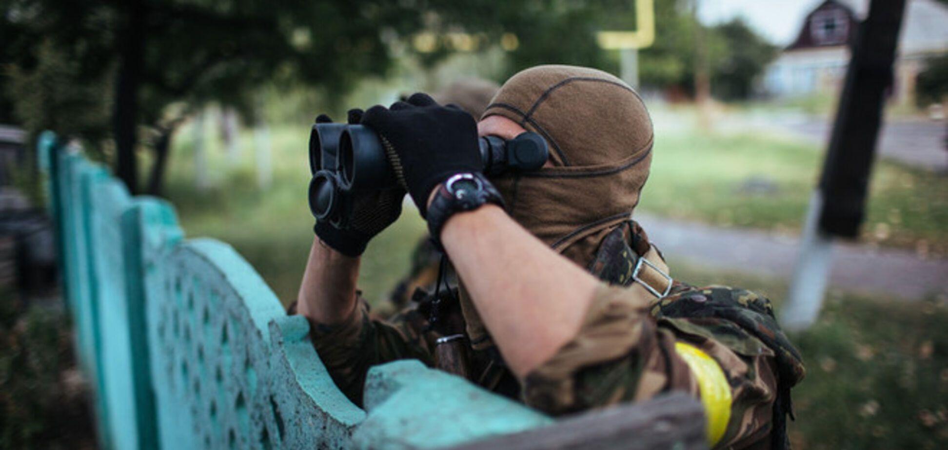 Террористы за вечер понедельника 11 раз атаковали позиции сил АТО