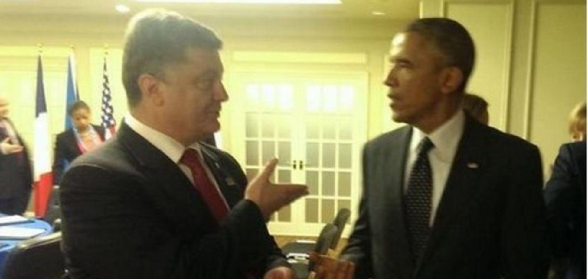 Порошенко обговорив з Обамою агресію Росії проти України