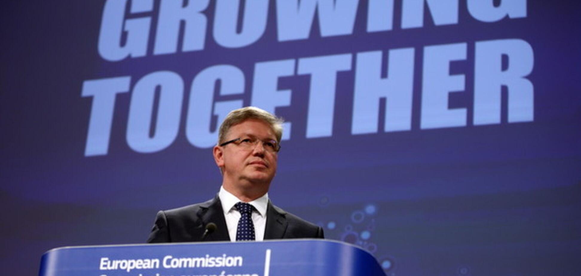 Еврокомиссар Фюле посетит Украину для участия в саммите YES