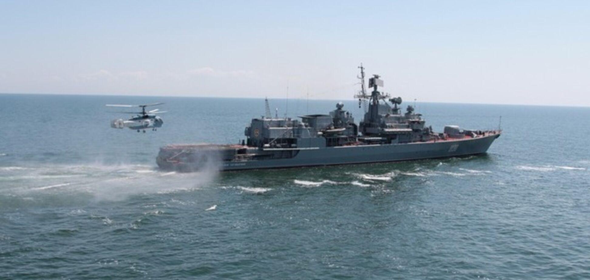 Украина и США в понедельник начнут учения в Черном море