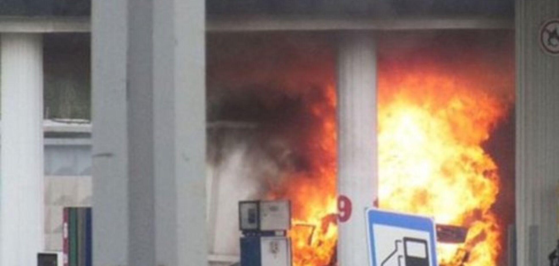 Под Киевом взорвалась очередная заправка 'БРСМ-Нафта'