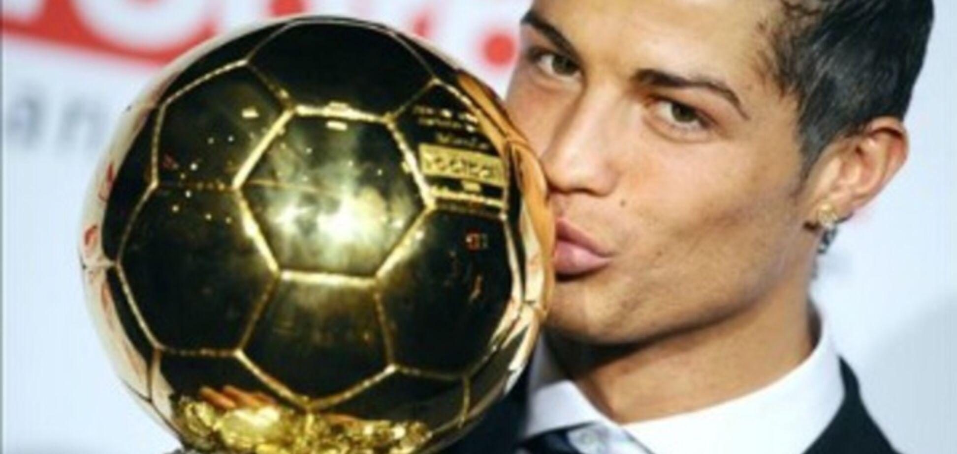 Роналду завоевал Золотой мяч-2014