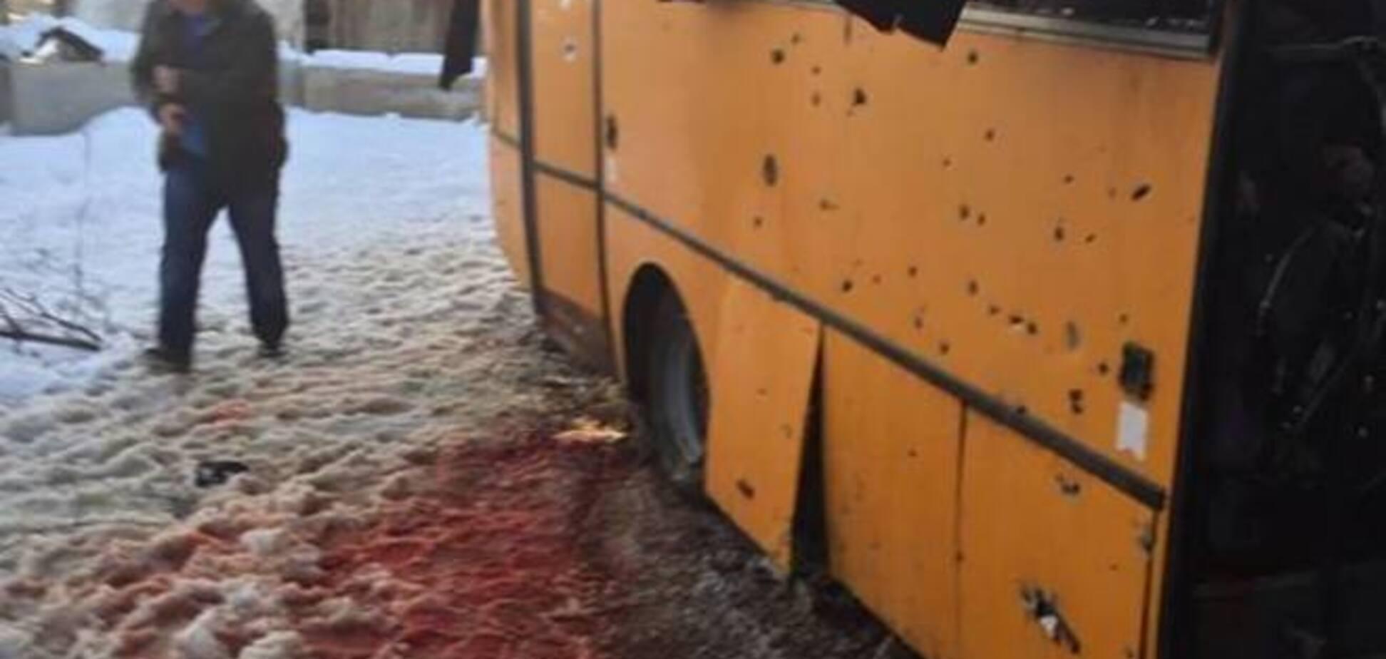 В районе теракта с автобусом в Волновахе мгновенно появились российские СМИ - генерал