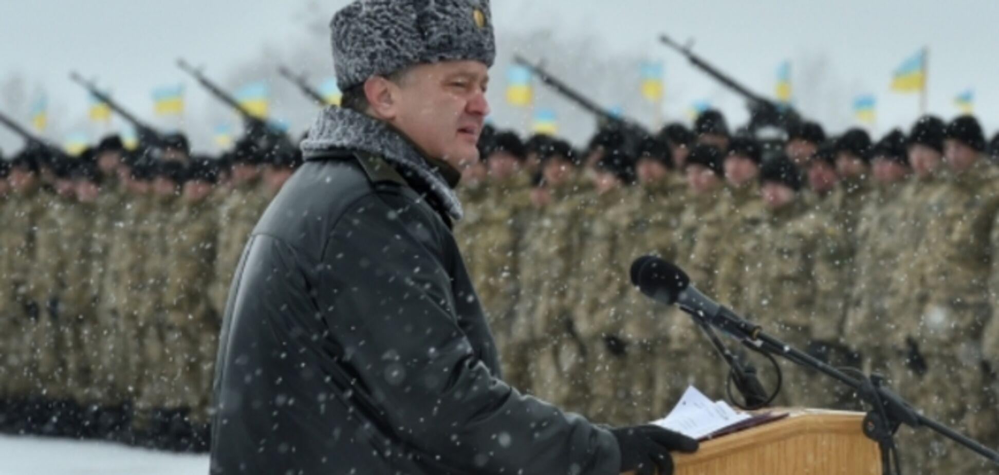 Порошенко подписал указ о мобилизации: будет три очереди