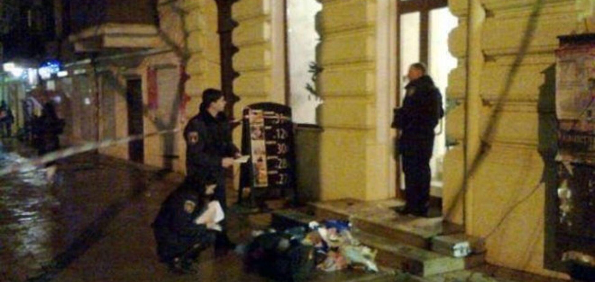 В милиции рассказали подробности взрыва в центре Одессы: он был контролированным